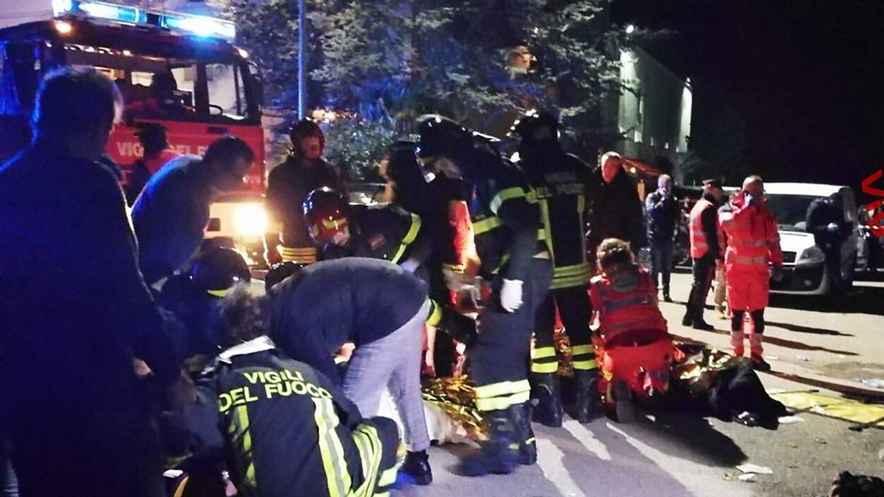 Seis fallecidos y más de 100 heridos por una estampida en una discoteca de Italia.Portada del disco «Un paso más», de Edu Vega