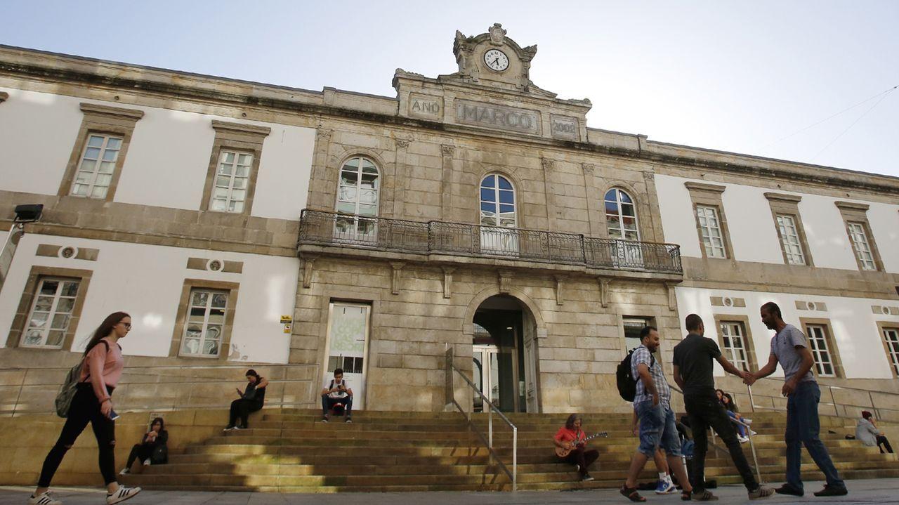 EXPOSICION CATRO PROXECTOS EN EL MUSEO MARCO