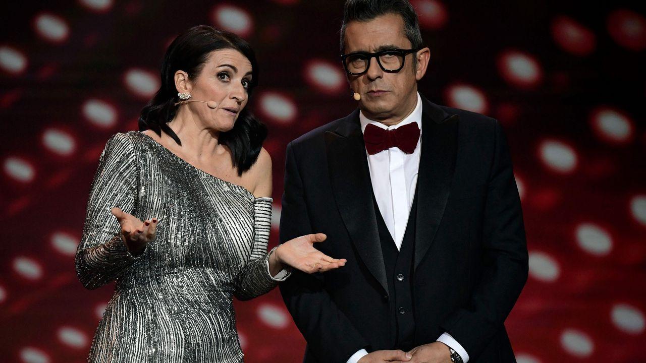 La emotiva despedida de Buenafuente a Eduard Punset.Jordi Sánchez y Silvia Abril protagonizan la película