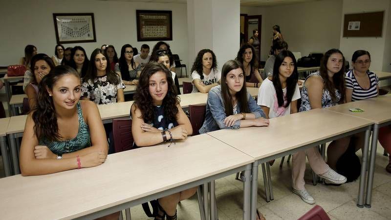 Los alumnos de informática participaron en un taller de adaptación