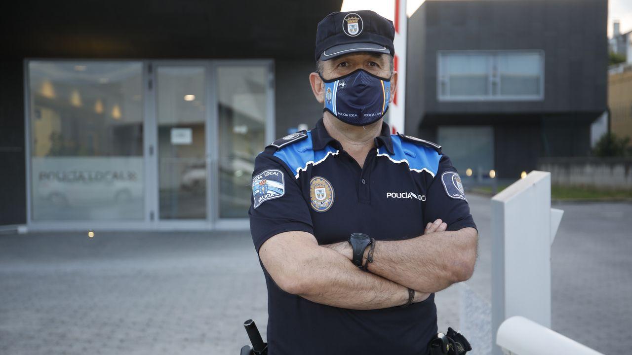 Durruti, policía local desde hace 33 años, ya se ha reincorporado al servicio
