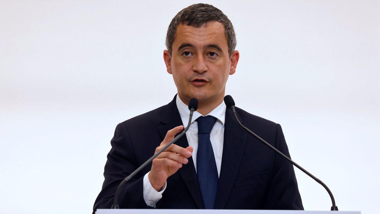 Gérald Darmanin, ministro del Interior francés