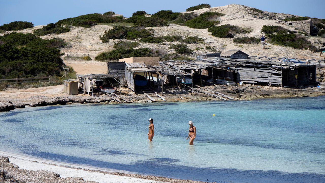 Formentera, La Graciosa, La Gomera y El Hierro recuperan la actividad