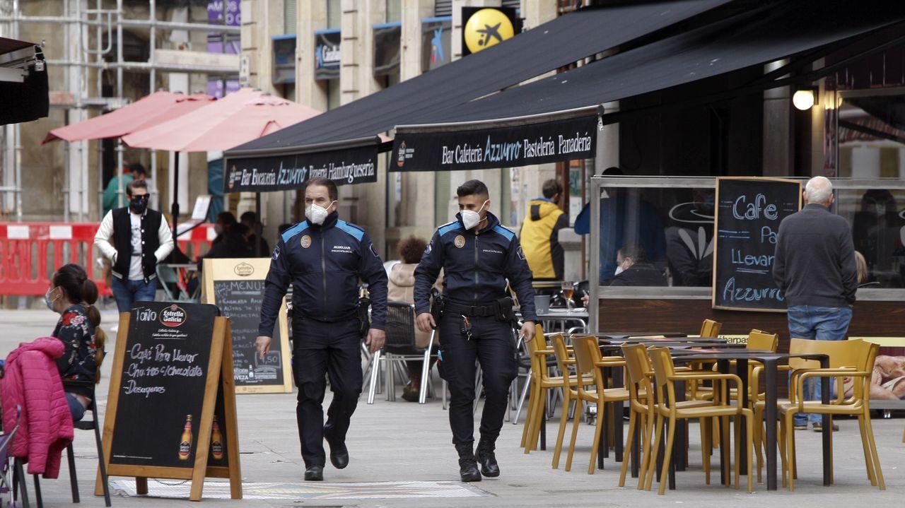 udef.Vehículo de la Policía Local de Gijón