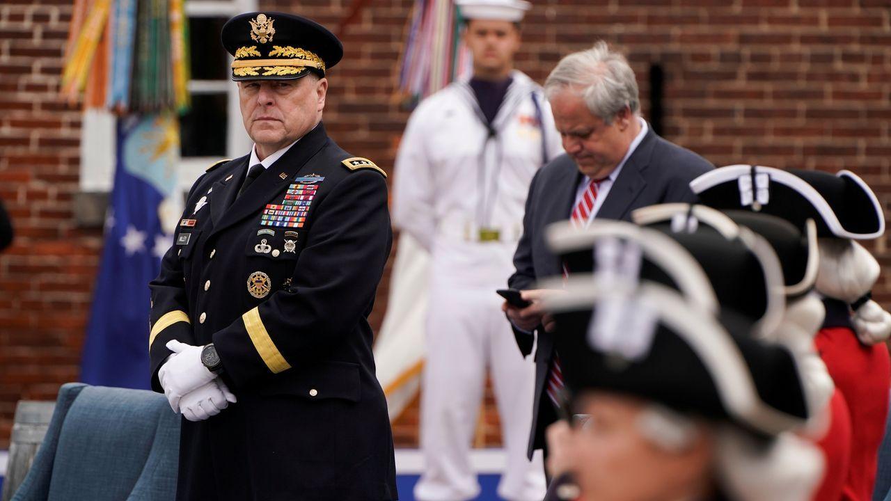 Mark Milley, jefe del Estado Mayor del Ejército de EE.UU., en una imagen de archivo