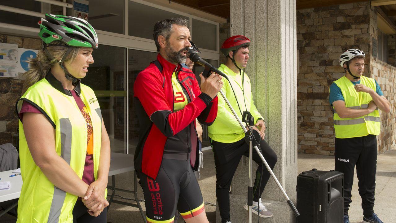 El Día da Bicicleta de Vimianzo fue un paseo por la historia.Celebración del 50 aniversario de Tusquets