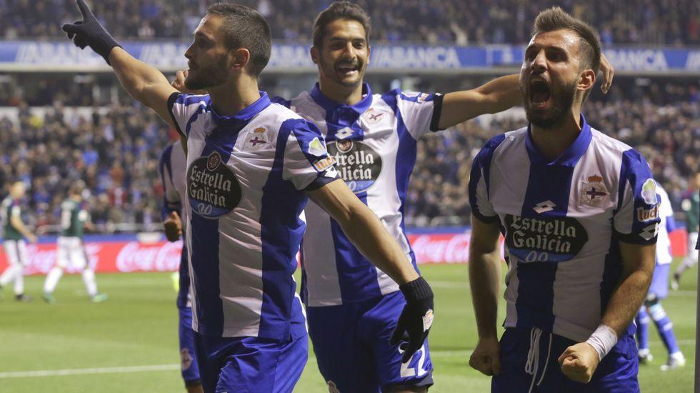 Las mejores imágenes del Deportivo - Osasuna