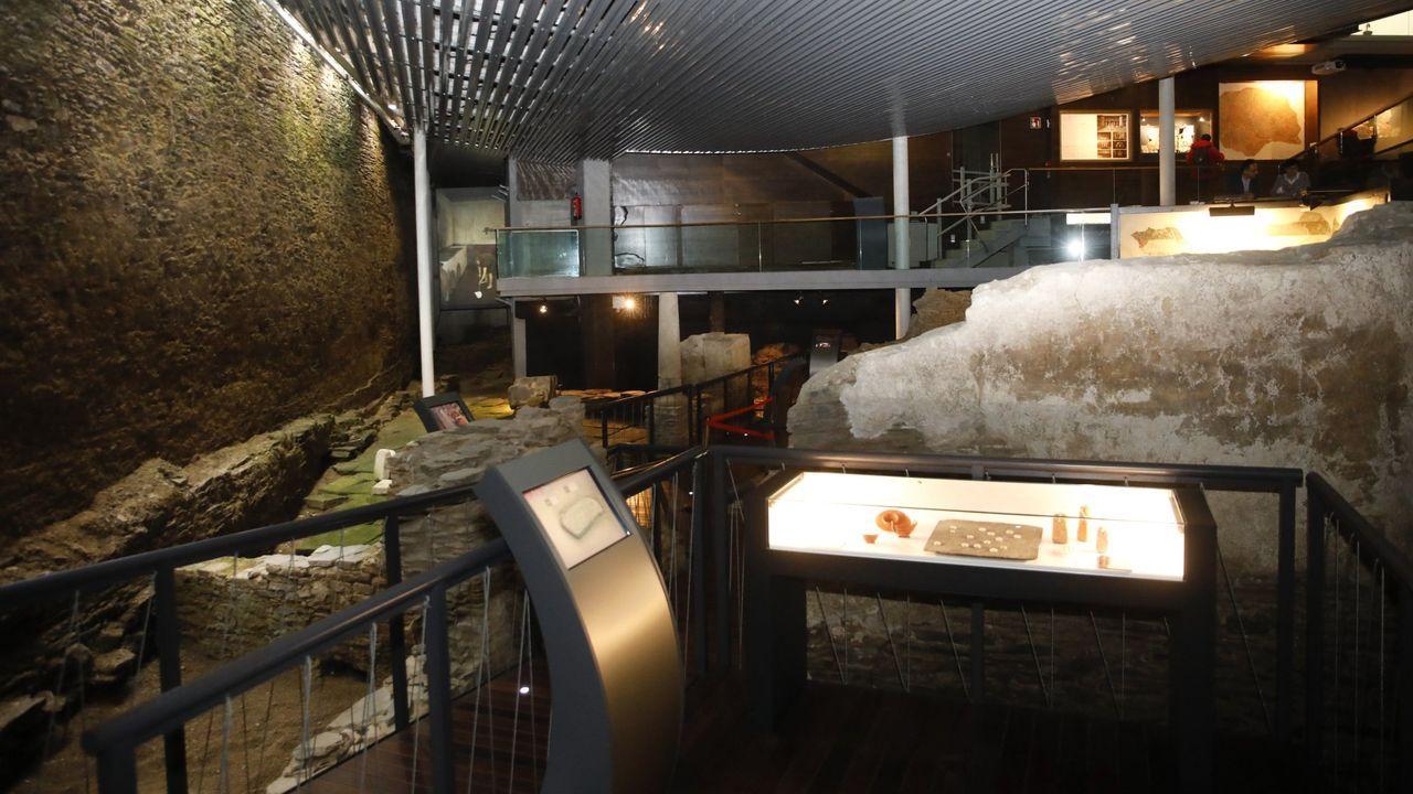 O Museo da Domus abrirá de martes a domingo