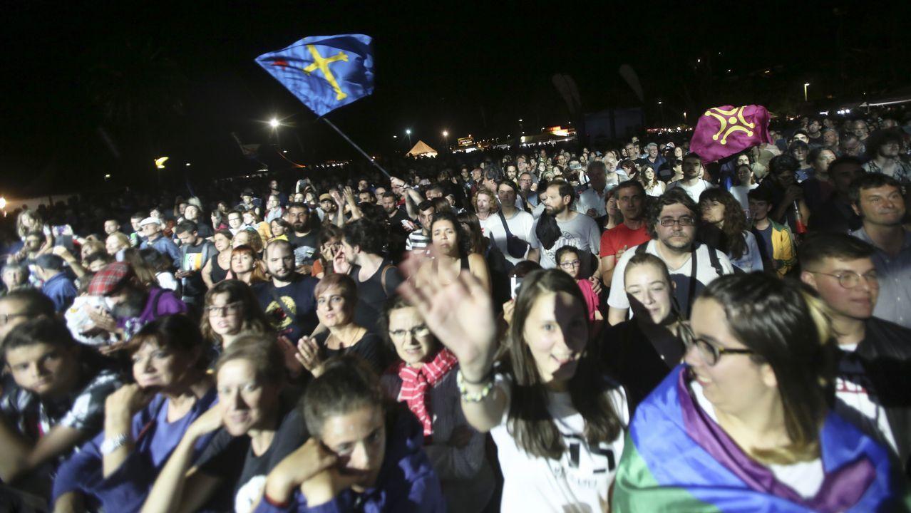 La zona de acampada está abarrotada de asistentes al festival