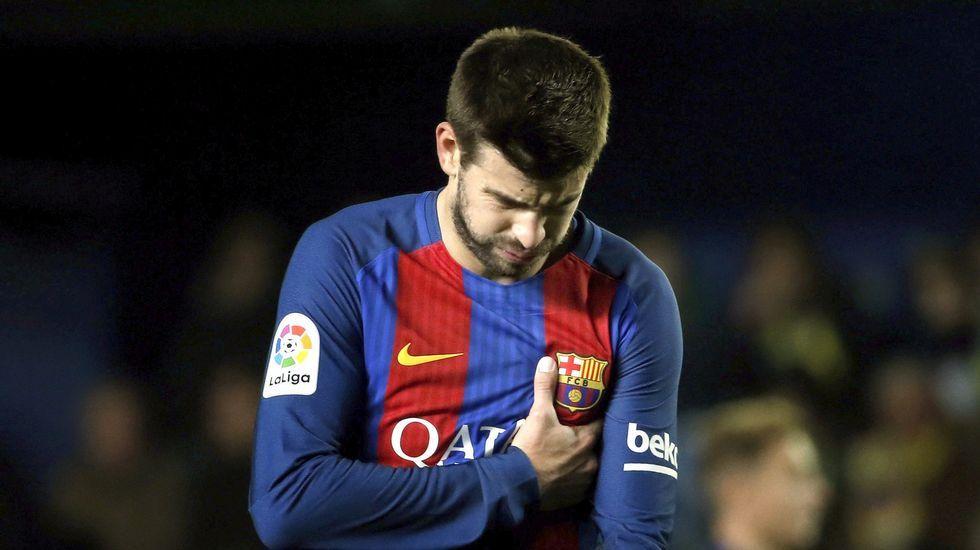 Luis Enrique y las quejas a los árbitros del Barça.Álvaro Ojeda en una foto de su perfil de twitter