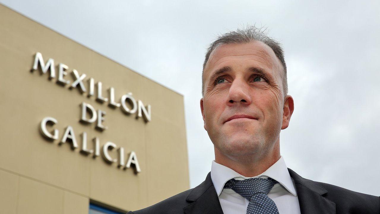 «Las rebajas ya no existen».Francisco Alcalde, presidente do Consello Regulador do Mexillón de Galicia