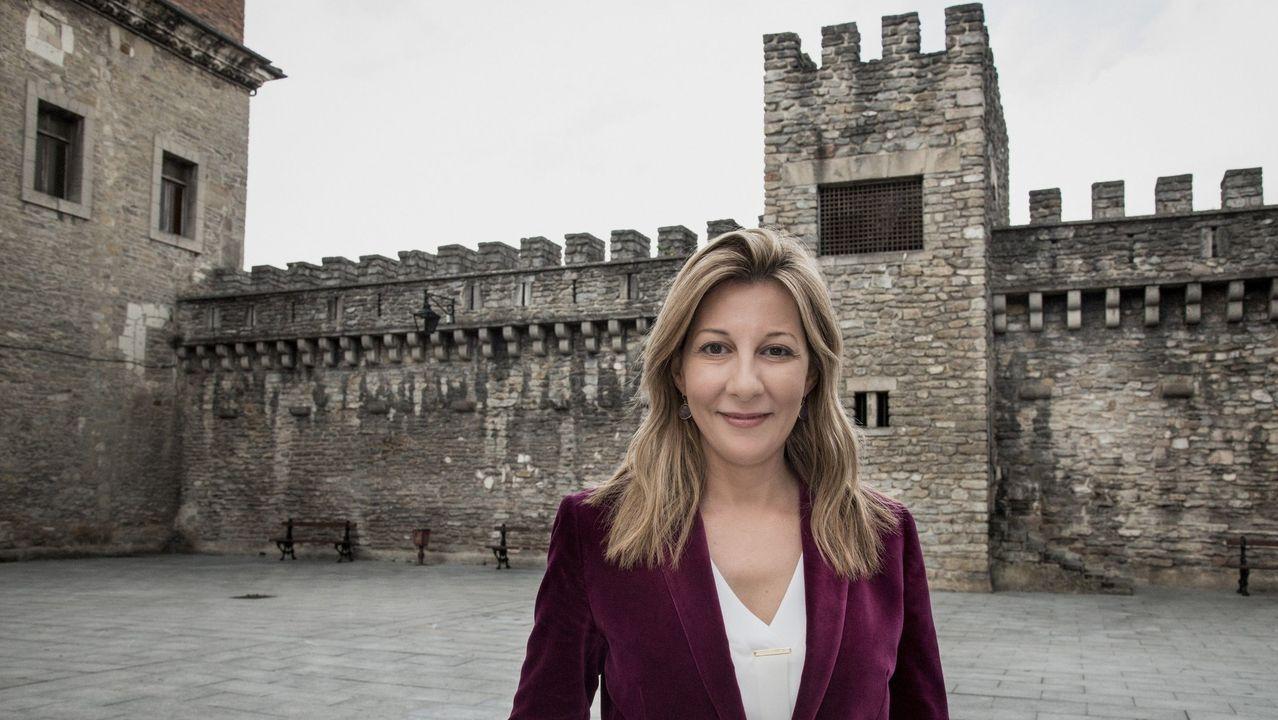 libros.La escritora Eva García Sáenz de Urturi