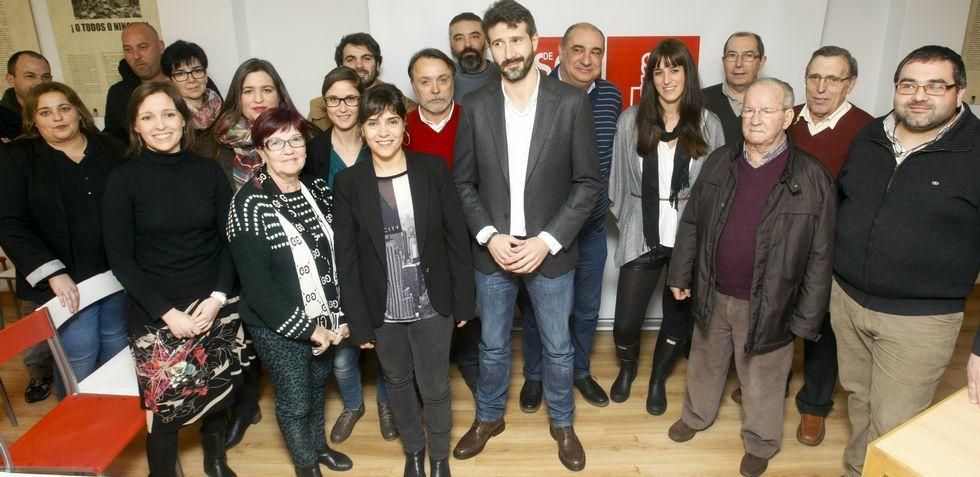 Alberto Varela pidió anoche el apoyo para él y su equipo, y conseguir que Vilagarcía «volva sentir que as cousas funcionan».