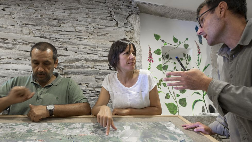 Ana Pontón, en Rábade