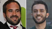 Andrés Álvarez y Pablo Cancio