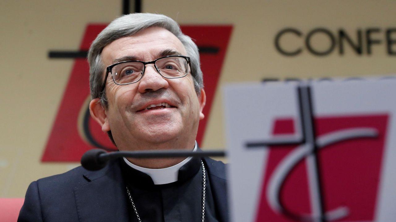El secretario general de la Conferencia Episcopal Española (CEE), Luis Argüello