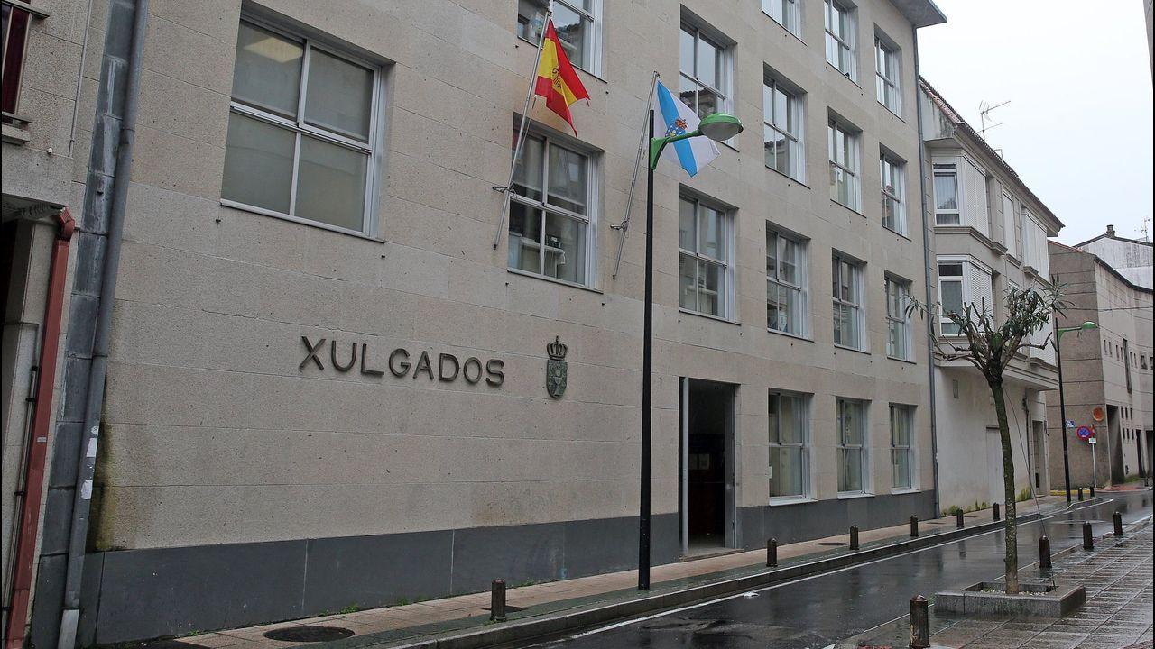 La vivienda de los padres detenidos en Lugo acumulaba gran cantidad de basura.Juzgados de Cambados