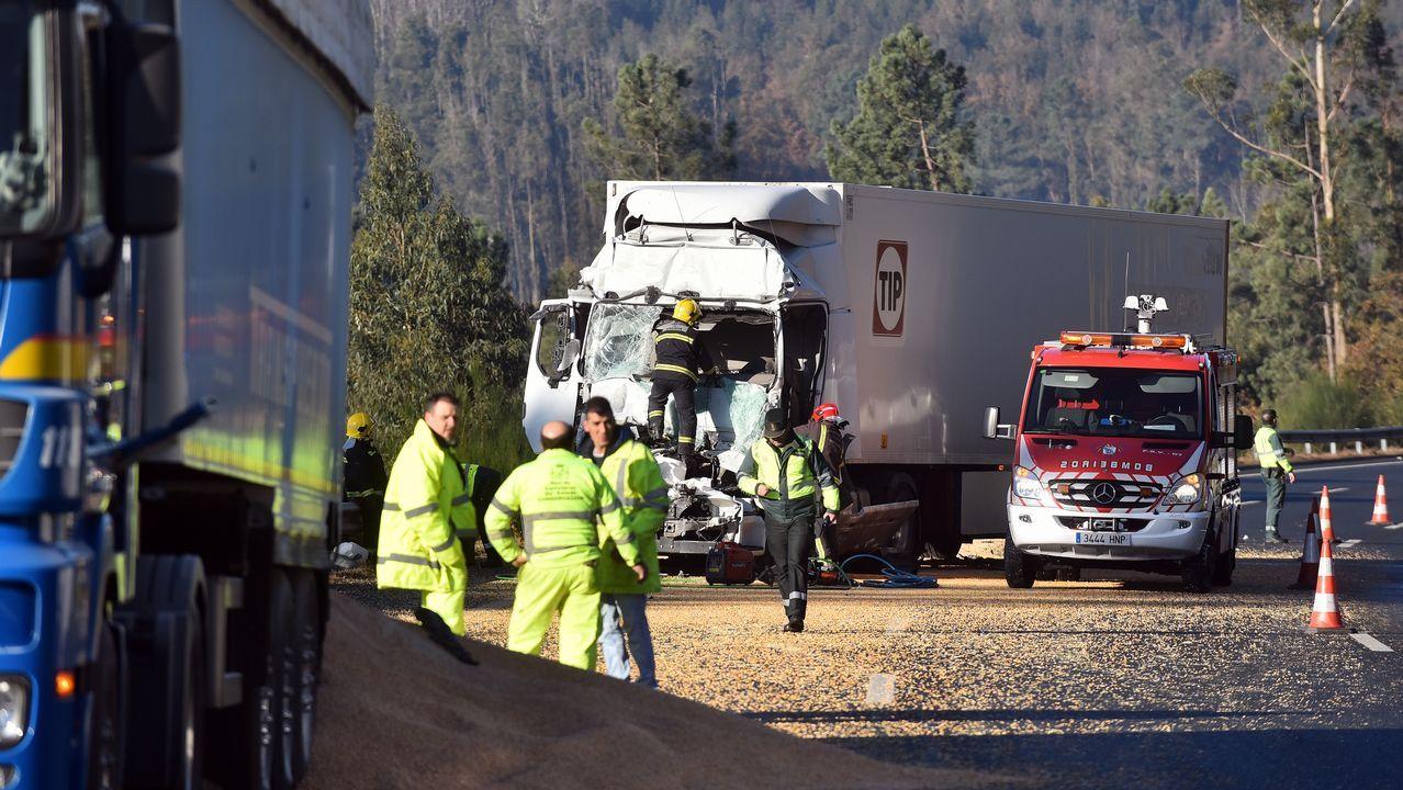 Un camionero murió el lunes en la A-6 en una colisión por alcance, uno de los accidentes más frecuentes en autopistas y autovías