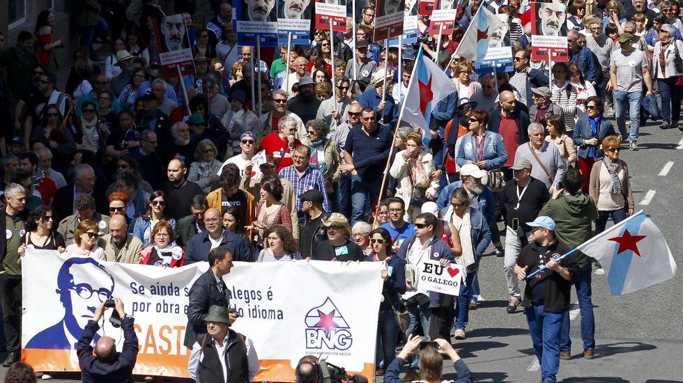 Manifestación polo galego