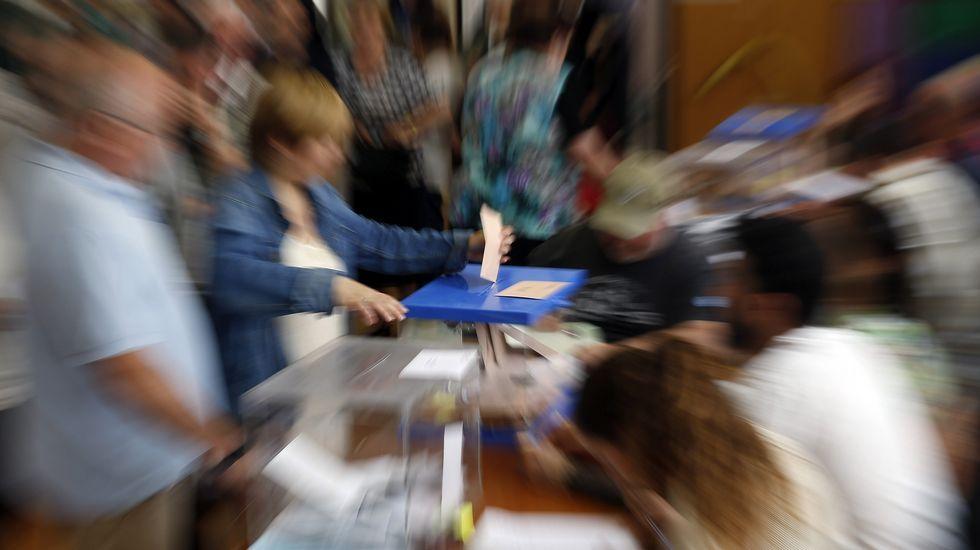 Jornada electoral en España