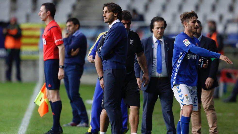 Ramiro Carregal xa ten a súa praza en Vilagarcía.David Generelo, en el encuentro ante el Leganés.