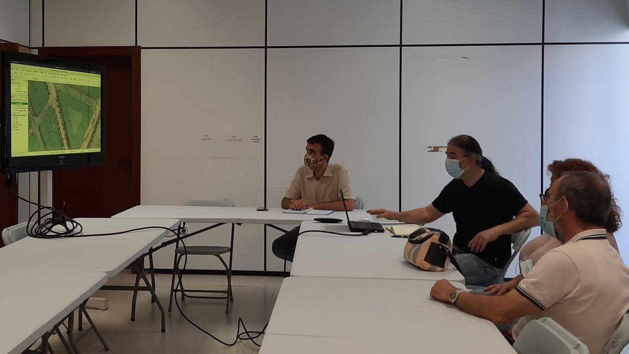 César Mosquera, concejal del BNG en Pontevedra y vicepresidente de la Diputación