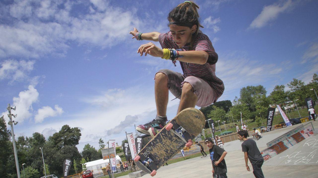 Oleiros proyecta mejoras en la pista de skate, que contará con más áreas deportivas en su entorno