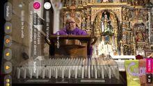 Misa del domingo en la parroquia de Santa Baia de Mondariz emitida en directo por Instagram