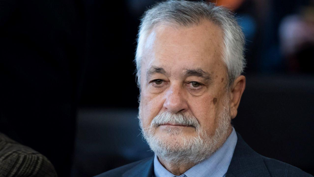 El expresidente José Antonio Griñán, 6 años de cárcel por un delito de malversación y a 15 años de inhabilitación por otro de prevaricación