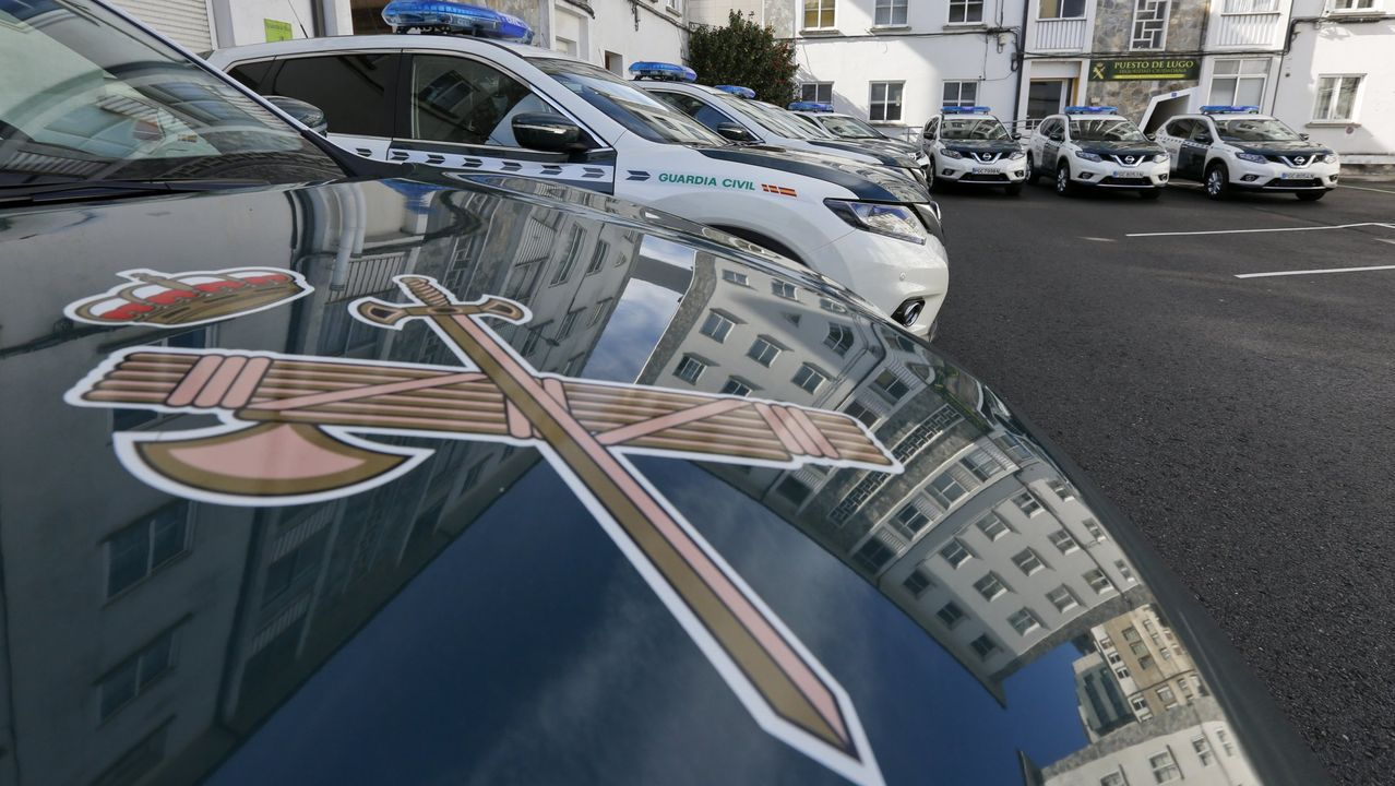 Material incautado por la Guardia Civil en robos en la provincia de Lugo