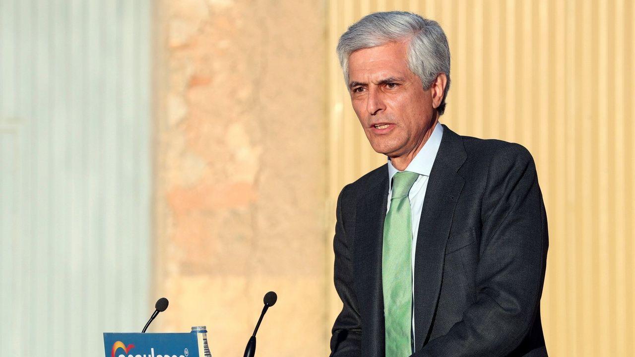 Díaz Ayuso: «Hoy empieza todo, desde luego para mí».Alberto Ruiz Gallardón, hace dos años en  la II Asamblea Madrid Foro Empresarial
