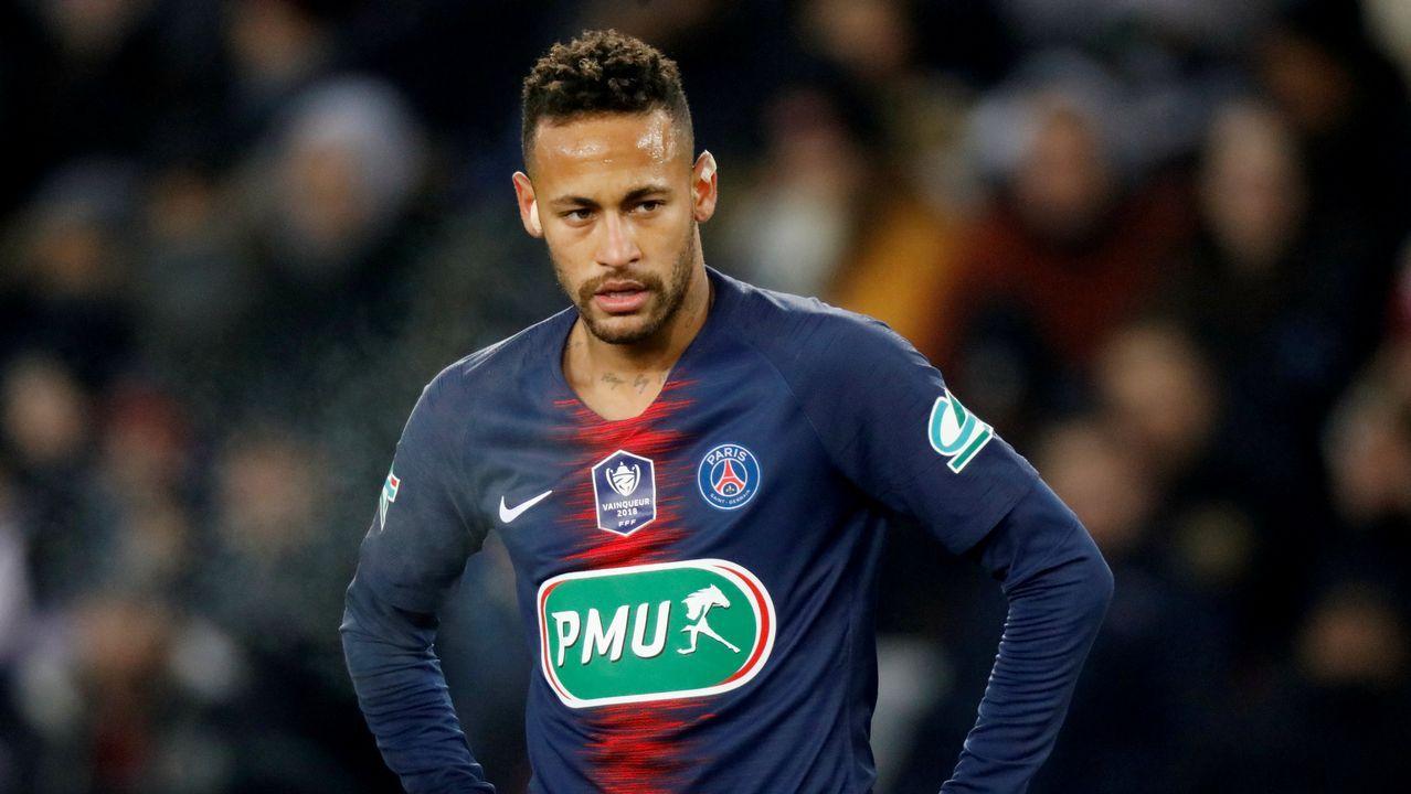 Neymar a un periodista:  !No me toques los cojones!