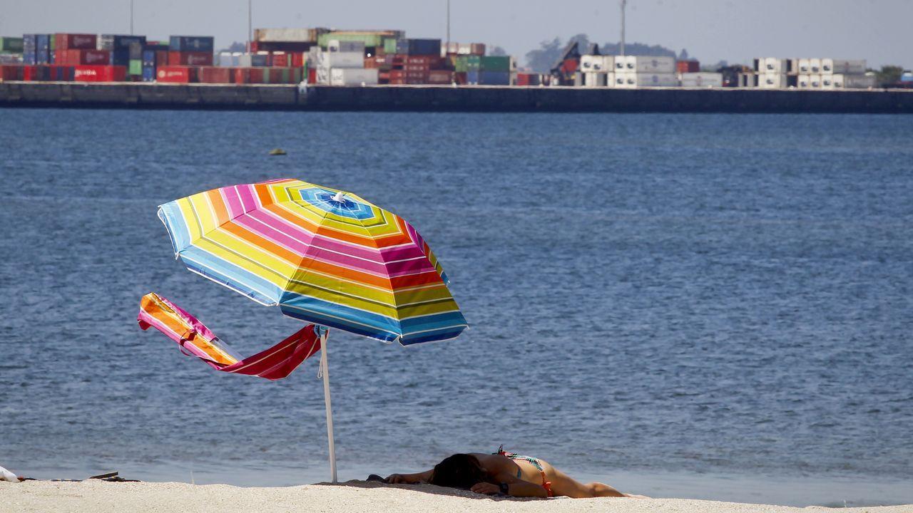 Otra jornada de calor sofocante en Ourense.La ballena azul que se alimentaba en Cíes era un ejemplar joven, de unos dos años y 18 metros