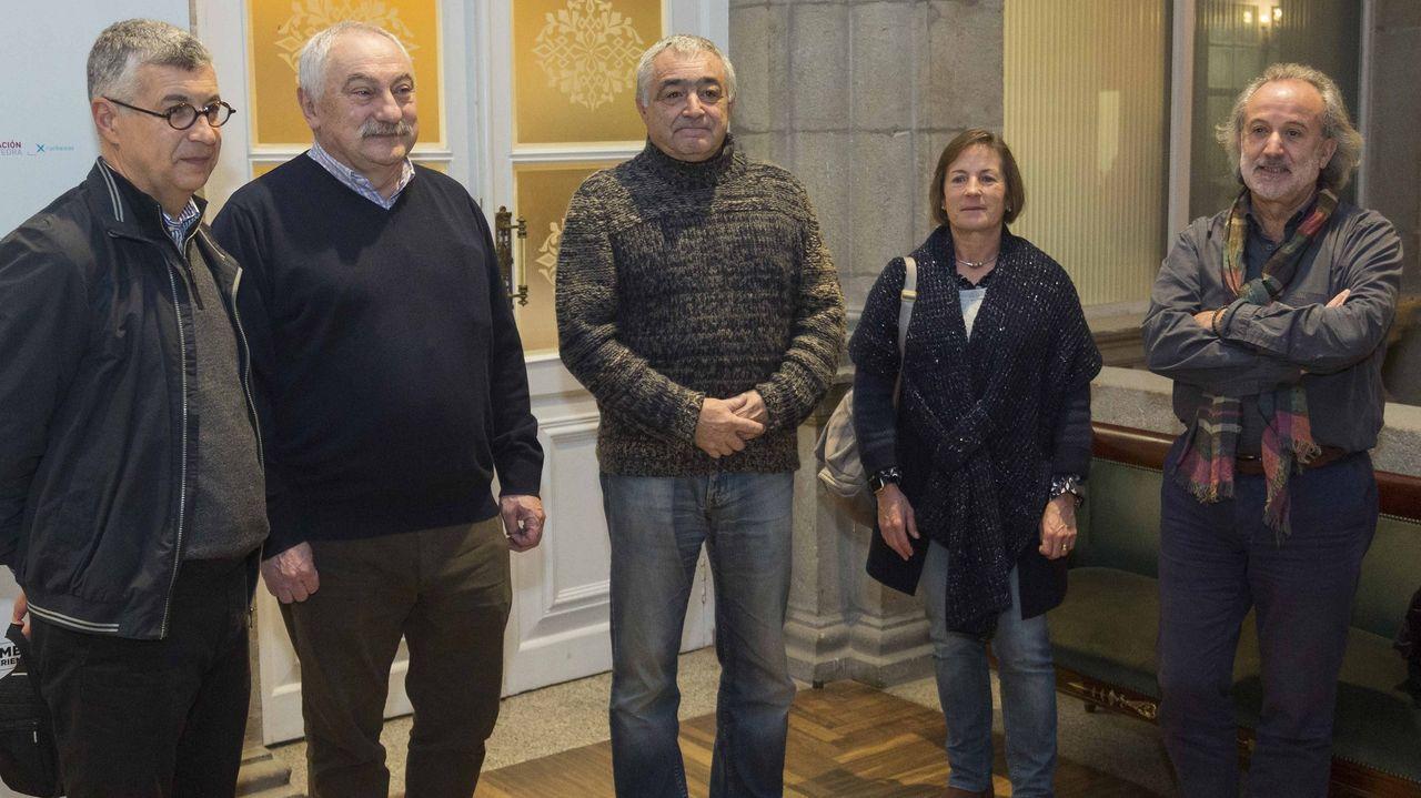 Presentación de un juego de escape turístico en la Ribeira Sacra en la anterior edición de Fitur, celebrada en enero del 2019