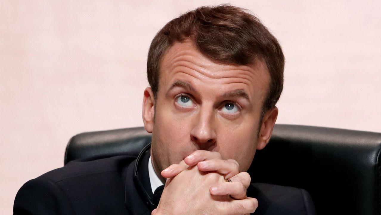 Macron impulsa una cumbre contra el cambio climático