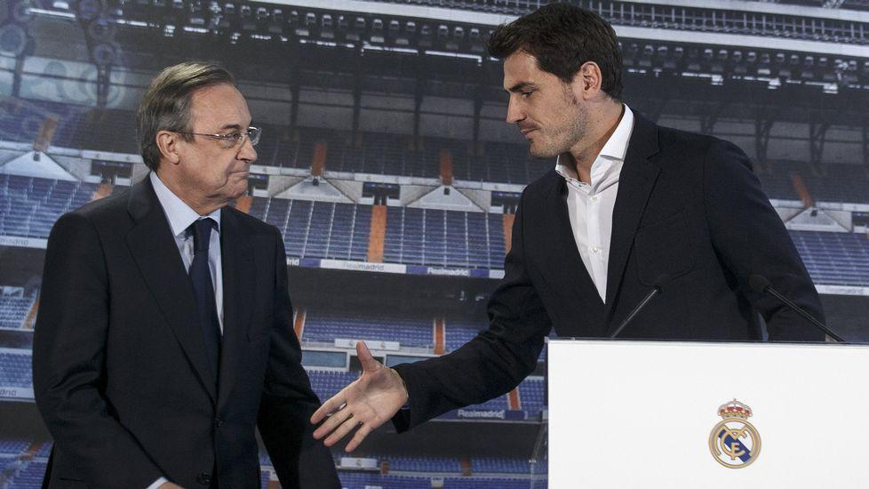 Casillas se despide del madridismo
