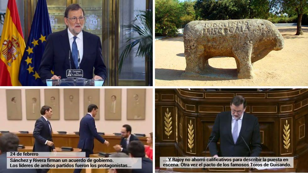 Rajoy y los Toros de Guisando