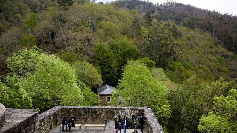 Las Fragas do Eume, donde se encuentra el también recomendable monasterio de Caaveiro