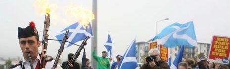 Así están votando los escoceses