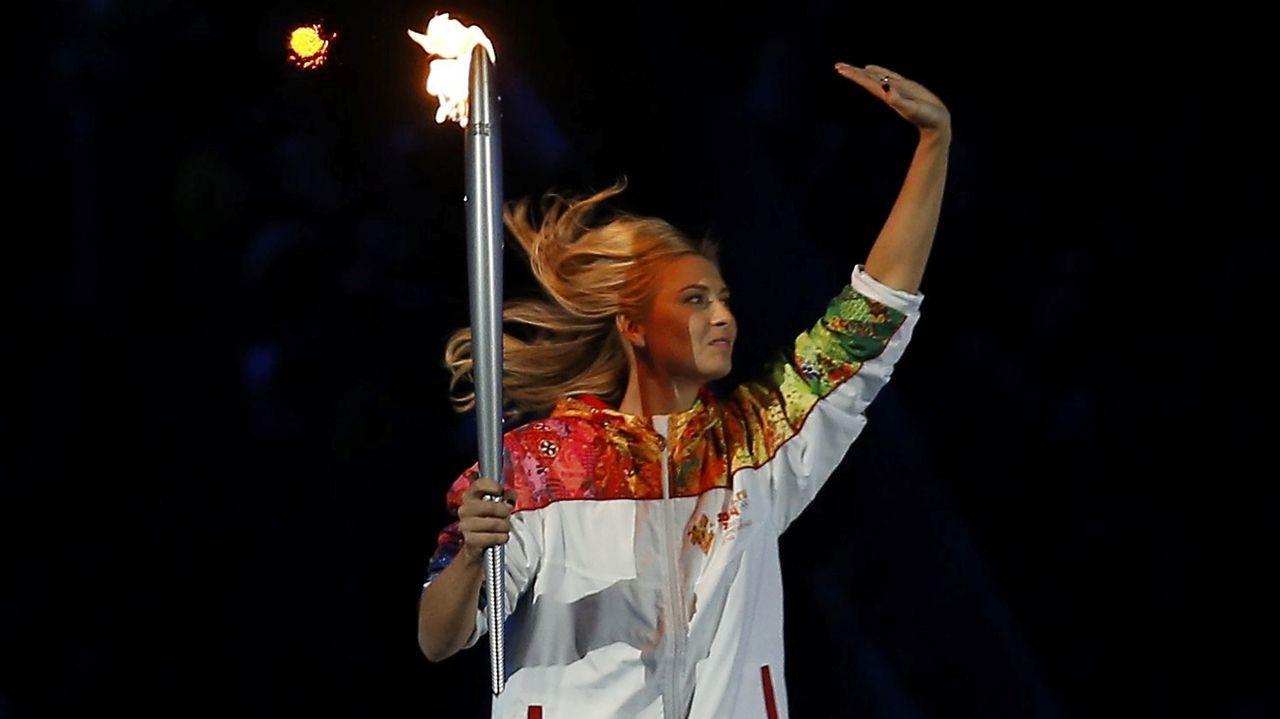 Portó la antorcha olímpica de los Juegos de invierno de Sochi de 2014.
