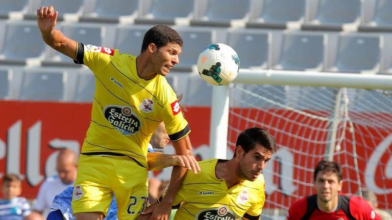 Resumén en vídeo: Sabadell 0-Deportivo 3.Insua y Uxío, ante un tiro de Acciari