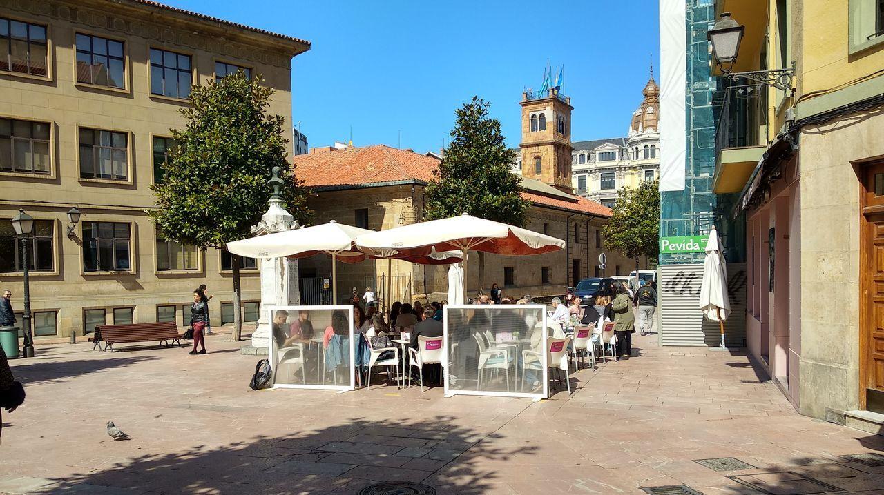 EN DIRECTO | Así será el progresivo desconfinamiento.Terrazas en Oviedo