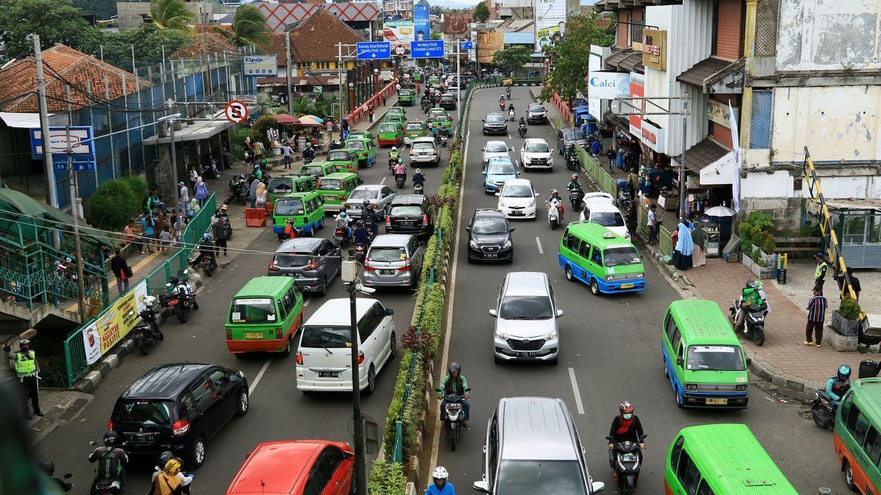 Ciudad de Bogor, en Indonesia