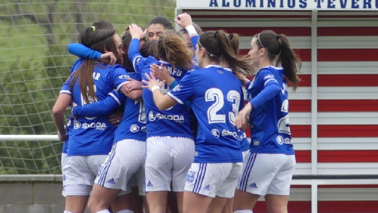 Gol Carol Gonzalez Real Oviedo Femenino Sporting Mareo