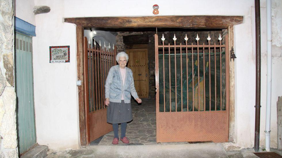 Entrega de los premios Magnum en Vilagarcía.A casa da solaina es el albergue privado de A Rúa de Valdeorras
