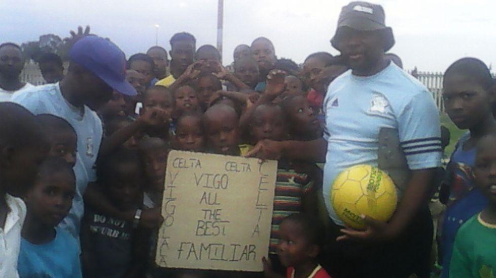 La escuela sudafricana que lleva el nombre del Celta manda su apoyo