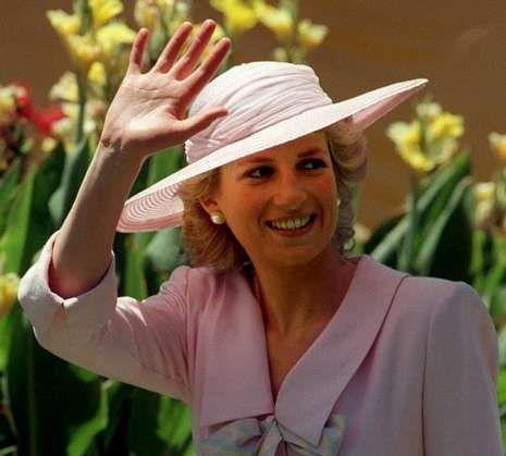 Imagen de Diana de Gales tomada en Melbourne en el año 1988.