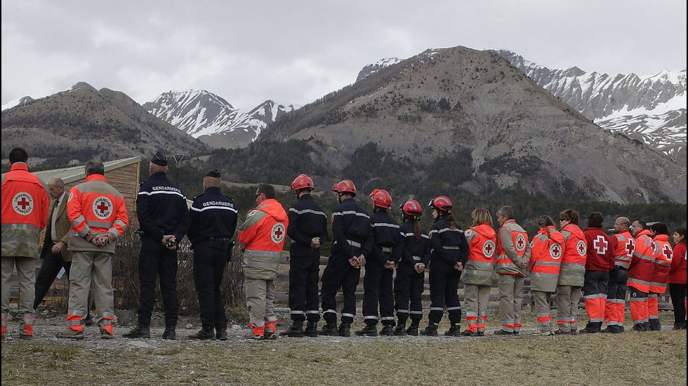 Accidente aéreo de un avión Airbus A320 de Germanwings que se estrelló en los Alpes franceses
