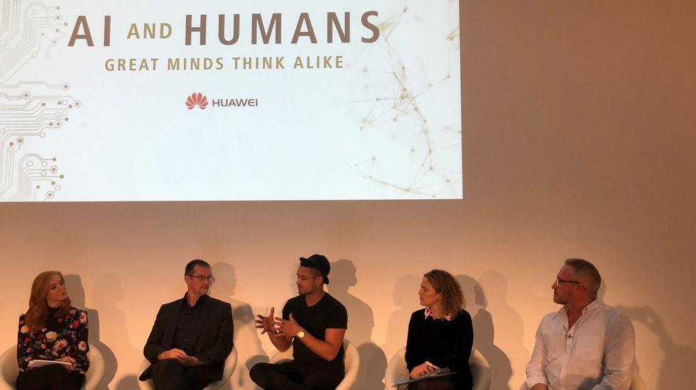 El estudio fue presentado en la Saatchi Gallery de Londres dentro de un evento que analizó los retos de la Inteligencia Artificial.