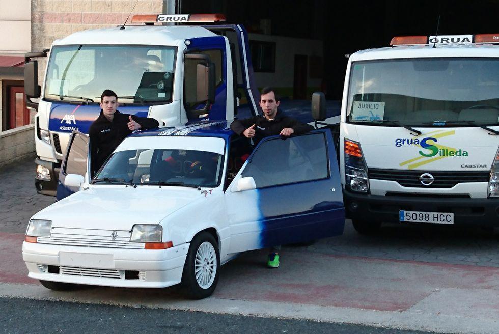 Gonzalo Val y Miguel Gonzalez correrán el Rali do Cocido.
